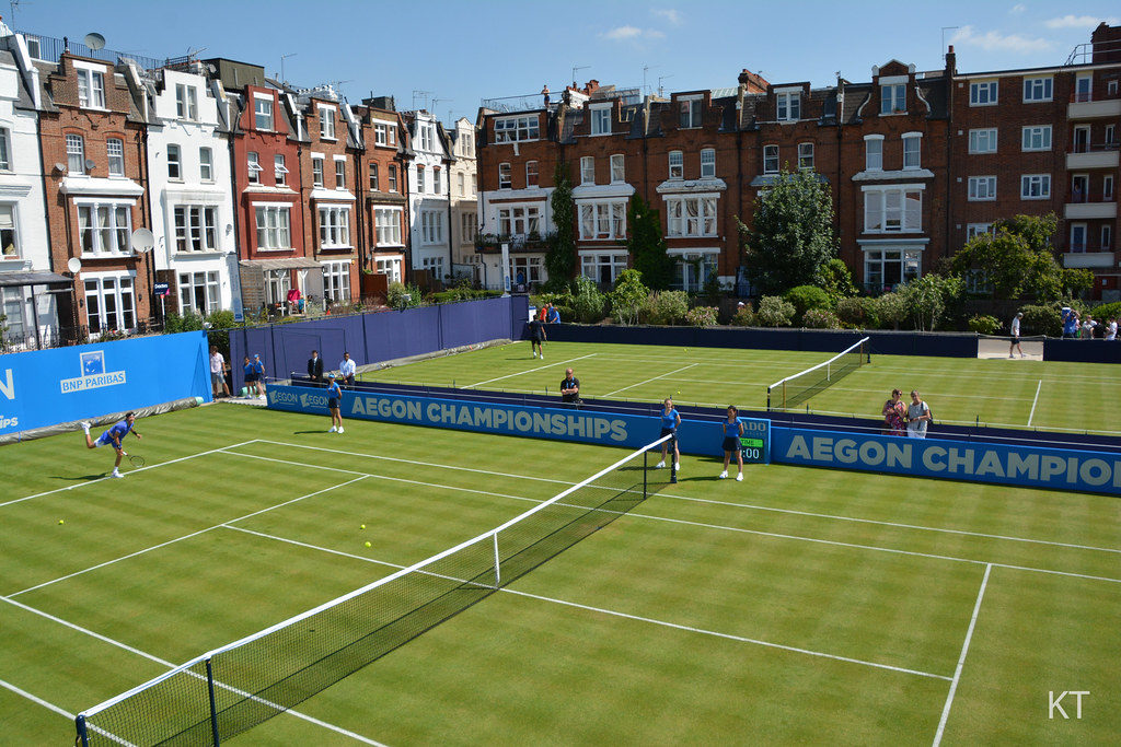 grass courts for tennis